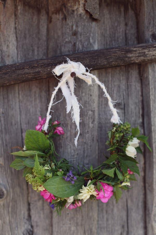 Handmade венки стоковое изображение