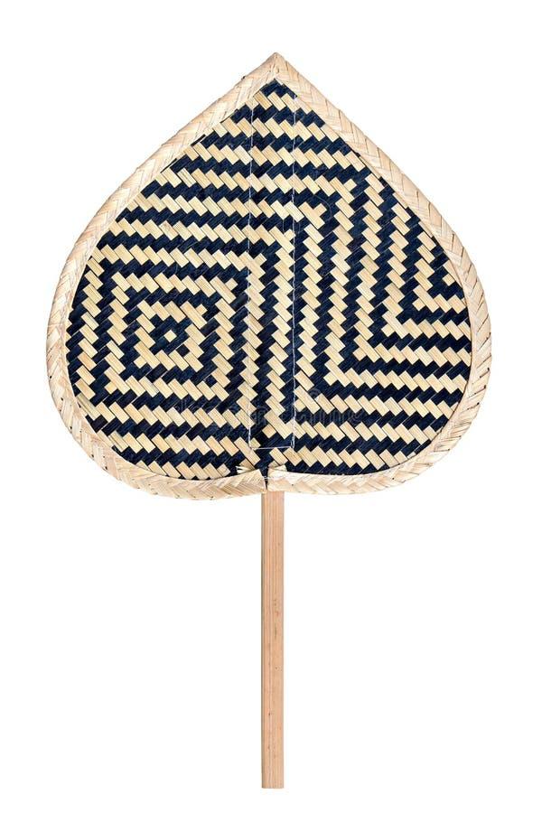 Handmade вентилятор basketwork стоковое фото rf