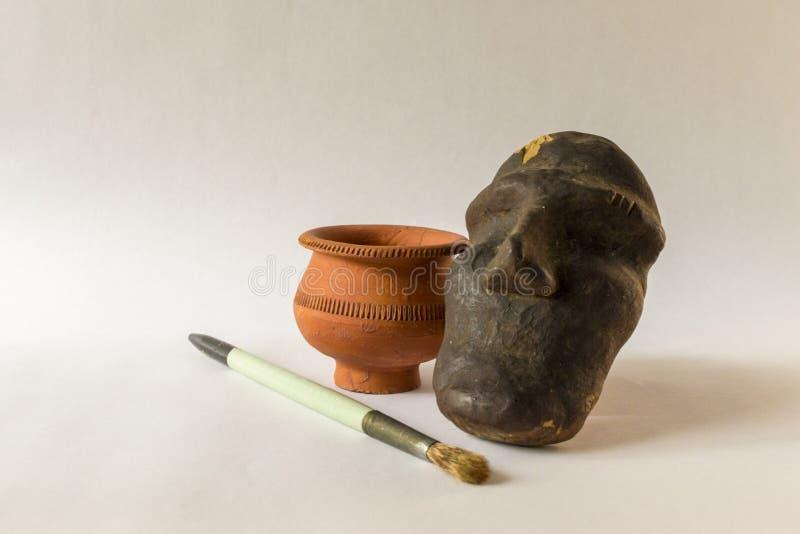 Handmade гончарня скульптуры стоковые фото