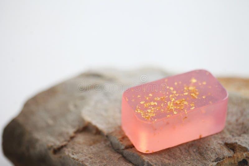 handmade естественное мыло стоковая фотография rf