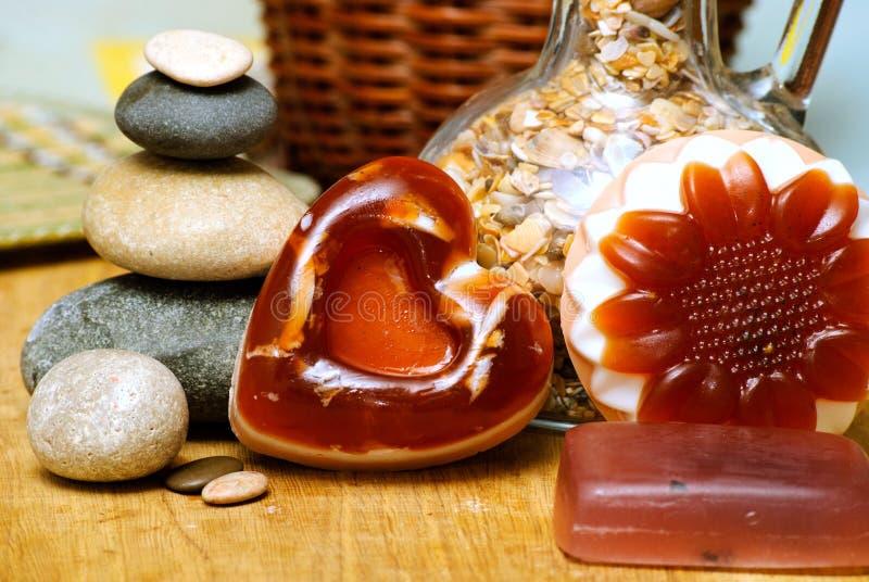 handmade естественное мыло стоковая фотография