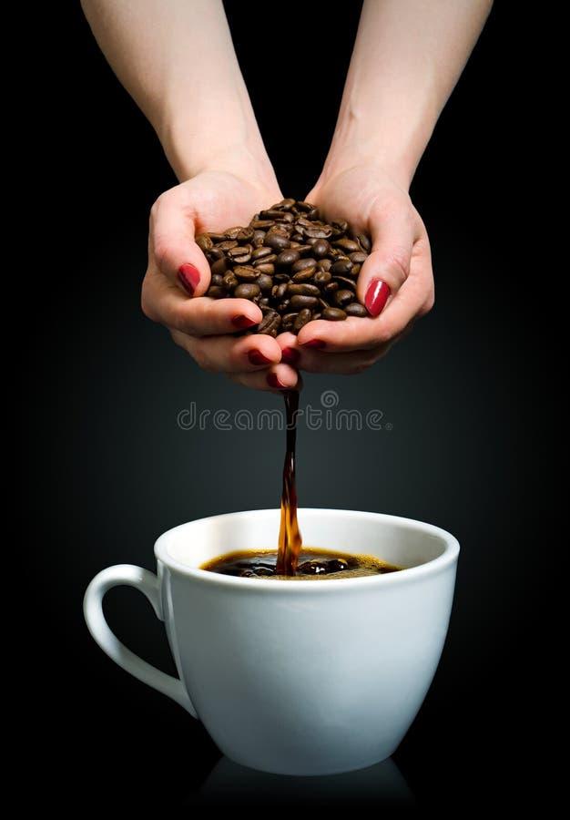 Handmade кофе стоковые изображения