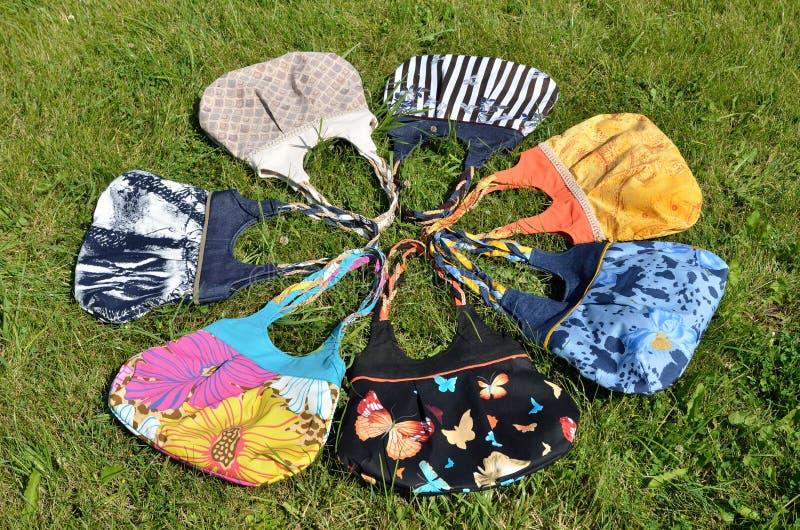 Handmade мешки стоковое изображение rf