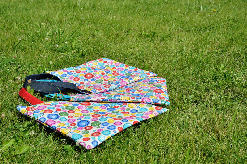 Handmade мешки стоковая фотография rf