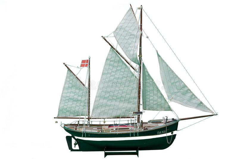 Handmade модель Даны Красивая Handmade модель Даны изолировала на белой предпосылке стоковые изображения