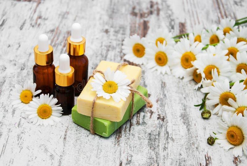 Handmade мыло и стоцвет стоковые изображения