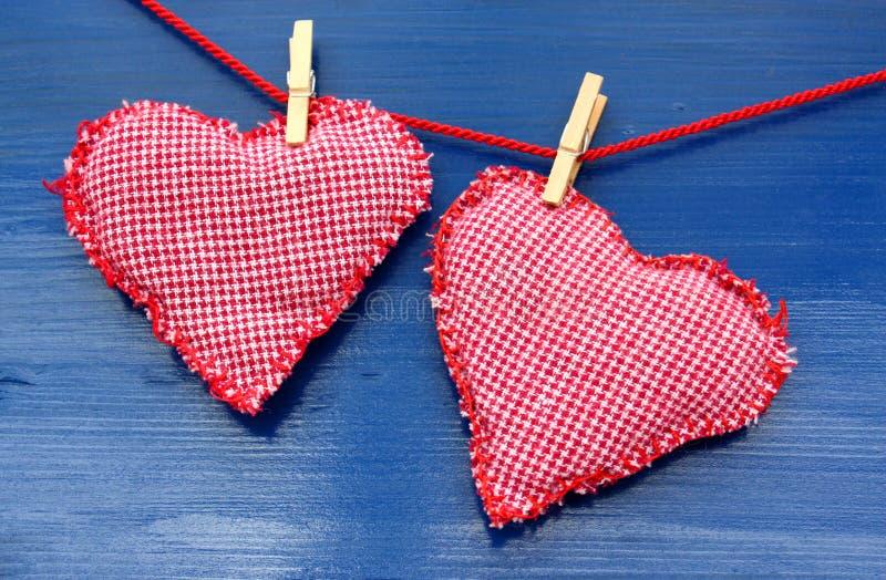 handmade сердца стоковые фото