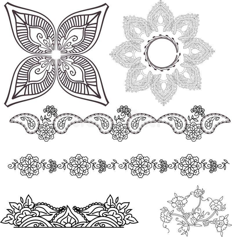 Handmade ilustração stock