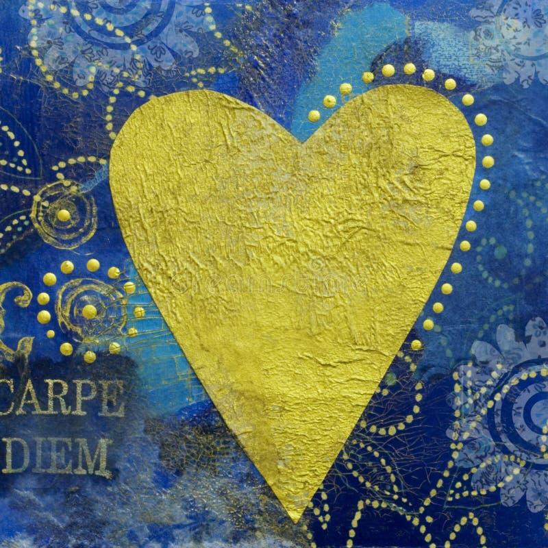 Download Handmade artwork stock illustration. Image of shaped, collage - 4103847