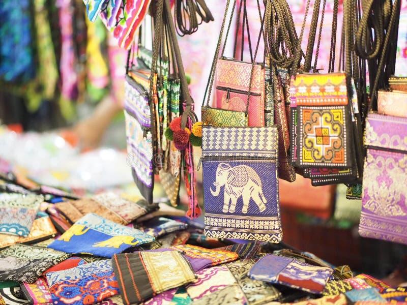 Handmade bag of Thailand royalty free stock photo