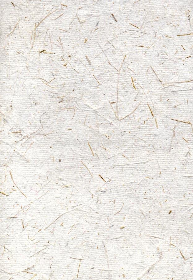 Handmade beige rice paper royalty free stock photos