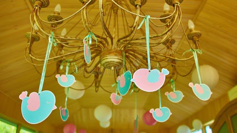 Handmade birthday gifts stock image