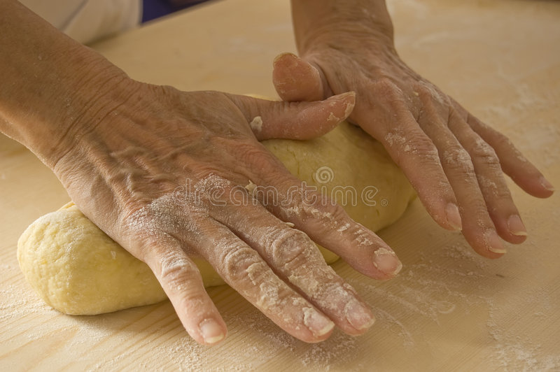 Handmade bread royalty free stock image