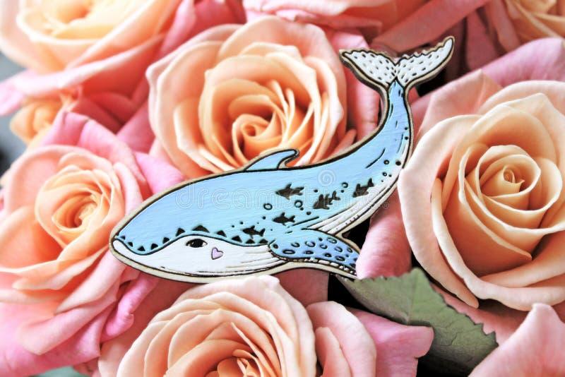 Handmade brooch. royalty free stock image