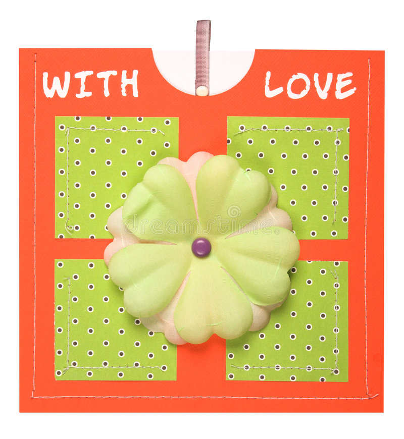 Download Handmade Card stock illustration. Image of card, communication - 8255174