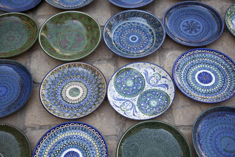 Download Handmade ceramic plates stock image. Image of pattern - 21374889 & Handmade ceramic plates stock image. Image of pattern - 21374889