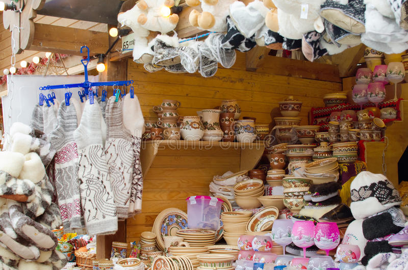 Download Handmade Crafts On City Market Stock Photo - Image: 28575052