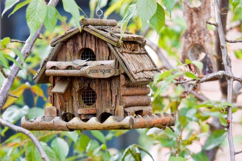 handmade creativo della casella di uccello fotografia stock