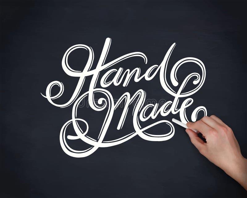 Handmade cursive font vector. Digitally generated Handmade cursive font vector stock illustration