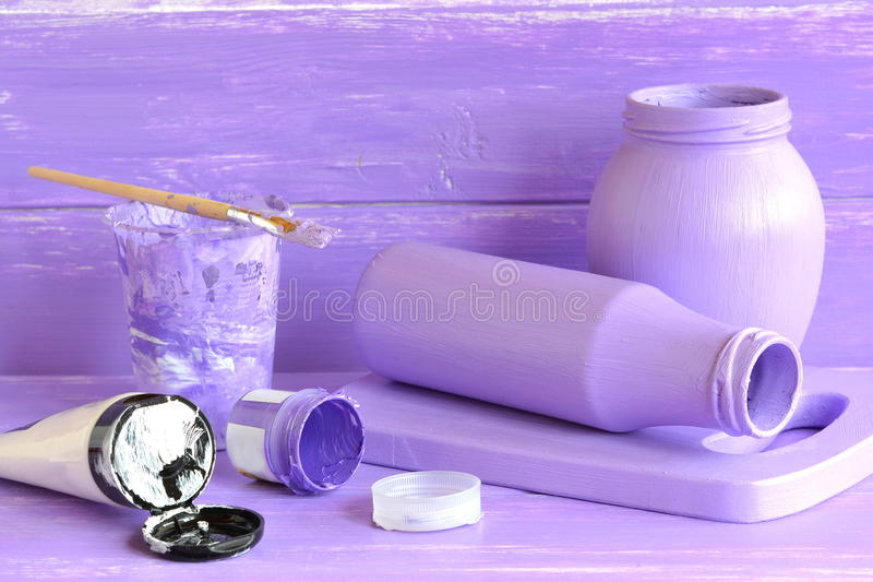 Download Handmade Decor Glass Milk Bottle Jar Crafts How To Make Decoration At