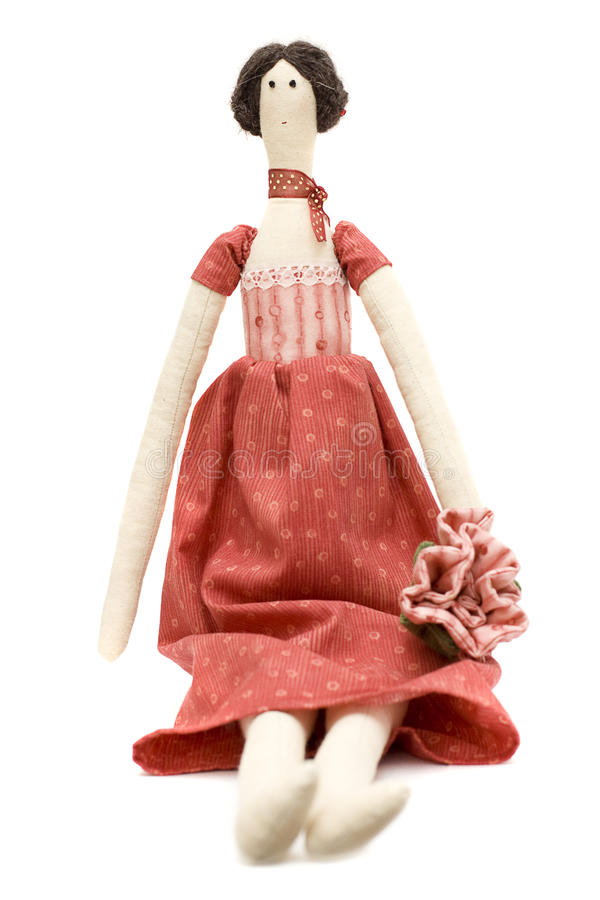 Handmade Doll Princess Royalty Free Stock Image