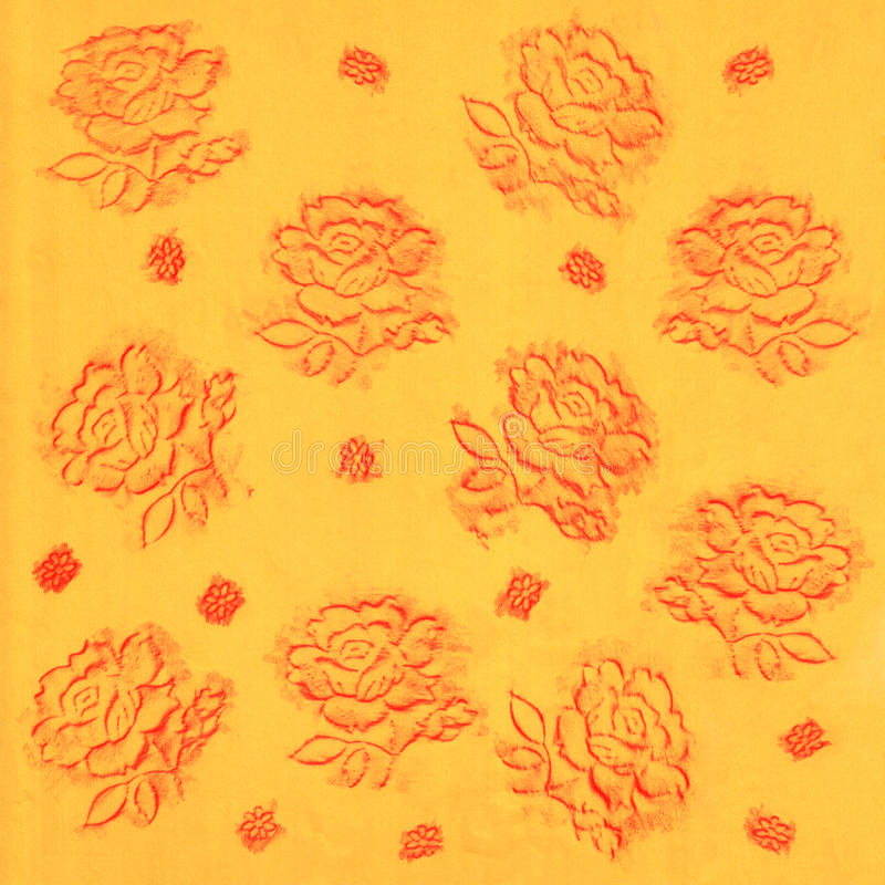 Download Handmade flowers stock illustration. Image of illustration - 27346333