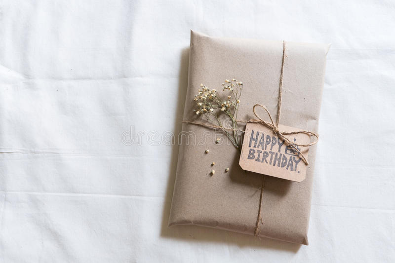Handmade gift royalty free stock image