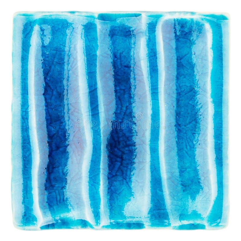 Download Handmade Glazed Ceramic Tile Stock Photo - Image: 83709903