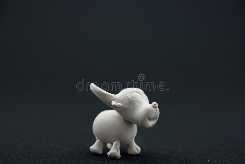 Handmade Gliniany bizon zdjęcia stock