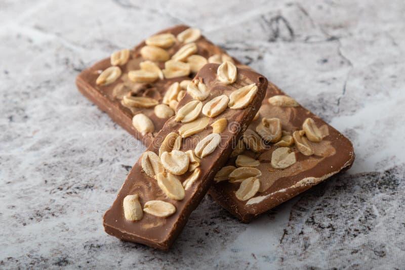 Handmade gourmet milk chocolate dessert snack royalty free stock image