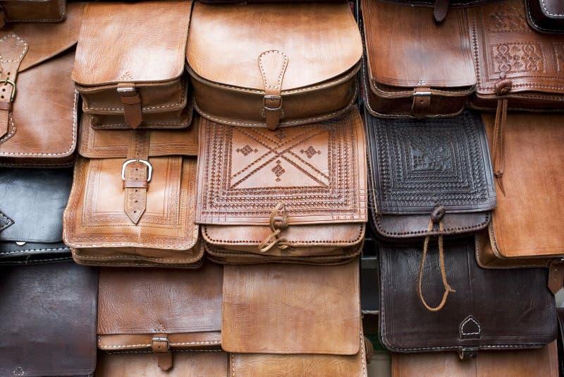 Handmade handbags royalty free stock image