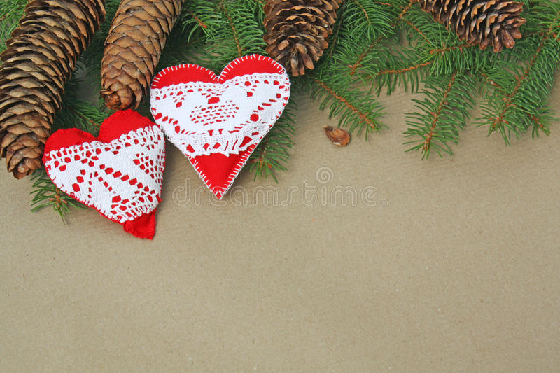 Download Handmade heart ornaments stock photo. Image of ornaments - 21495246