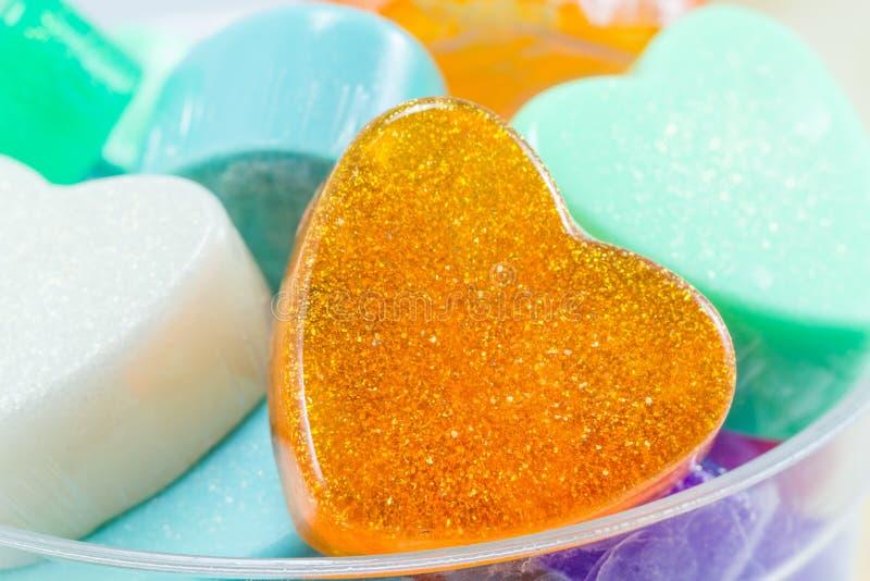 Handmade Hearts Shaped For Valentine Day Stock Photo