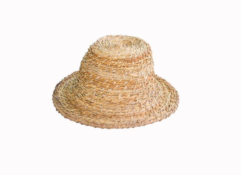 Handmade kapelusze na białym tle, to są ścinku ścieżką fotografia stock