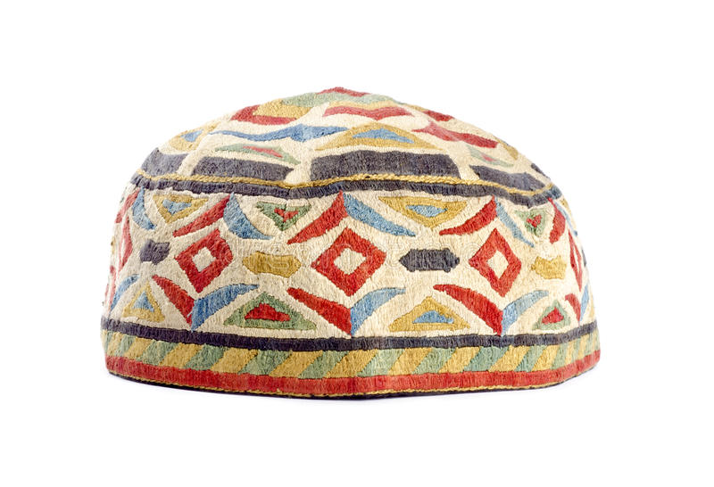 Handmade Kufi Hat Royalty Free Stock Photo