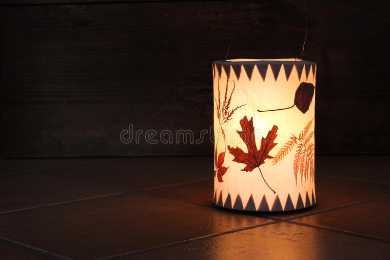 Handmade lanterns royalty free stock image