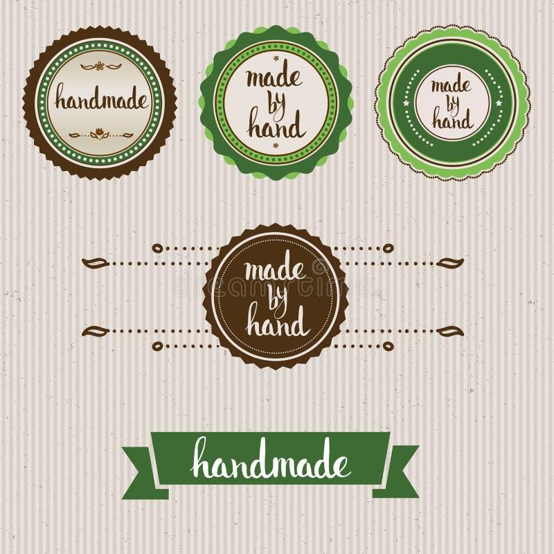 handmade Lettrage fait sur commande original de main illustration stock