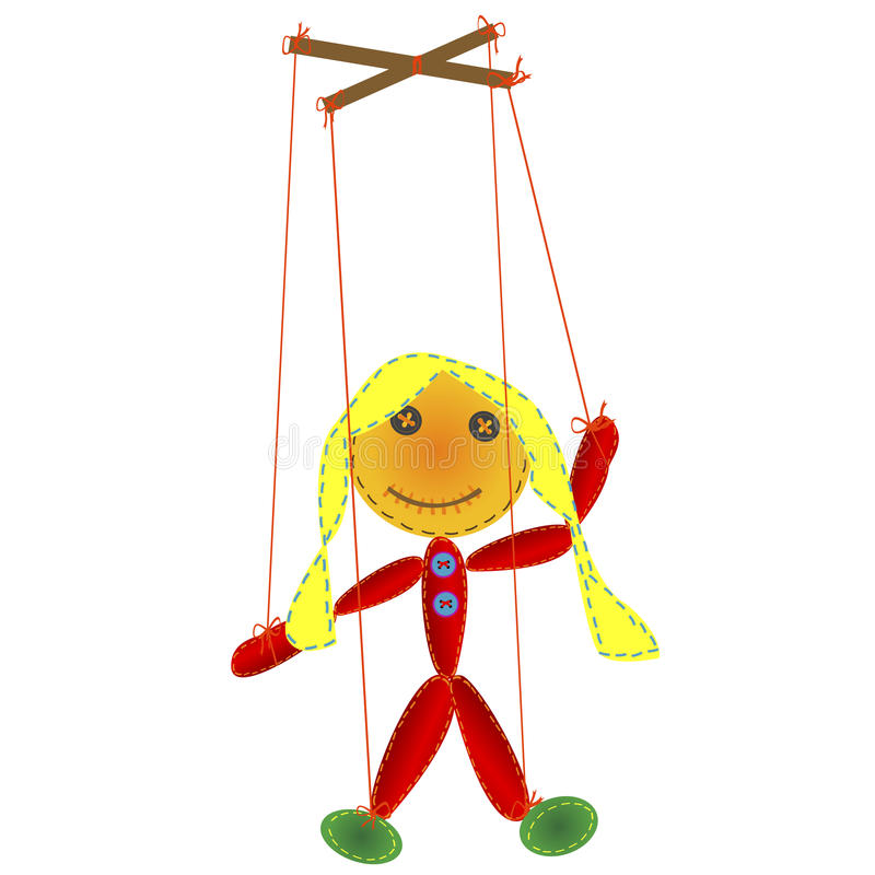 Download Handmade Marionette Royalty Free Stock Photography - Image: 22696387
