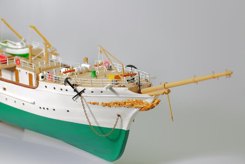 Handmade model of Danmark. Beautiful Handmade model of Danmark on white background.  stock images