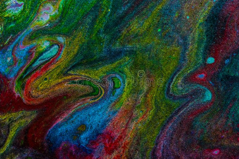 Molten Space 3 royalty free stock images