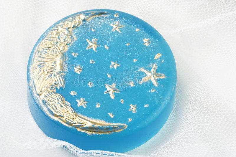 Download Handmade moon soap stock image. Image of toiletries, hygiene - 25257717