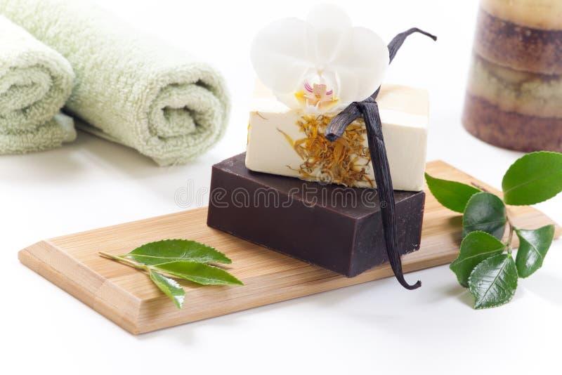 Handmade Organic Soap Stock Image