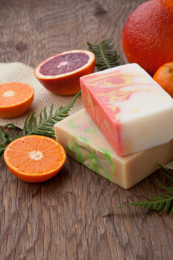 Download Handmade Organic Soap stock photo. Image of scented, objects - 89782260