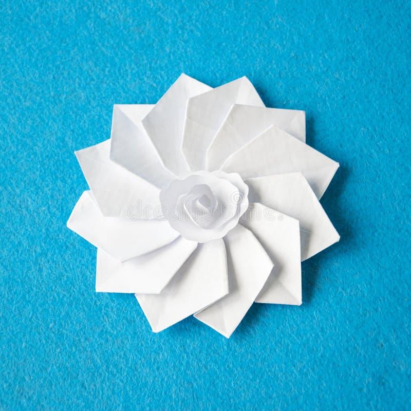 Handmade origami white paper flower stock image image of beautiful download handmade origami white paper flower stock image image of beautiful background 115000043 mightylinksfo
