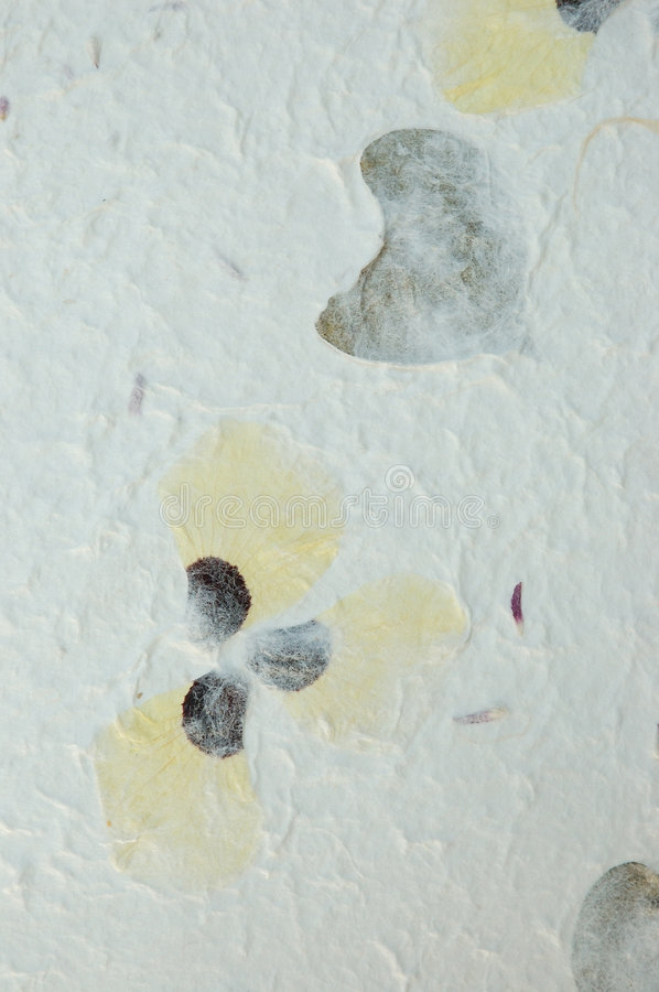 Download Handmade Pansy Petals Paper Stock Image - Image: 223489