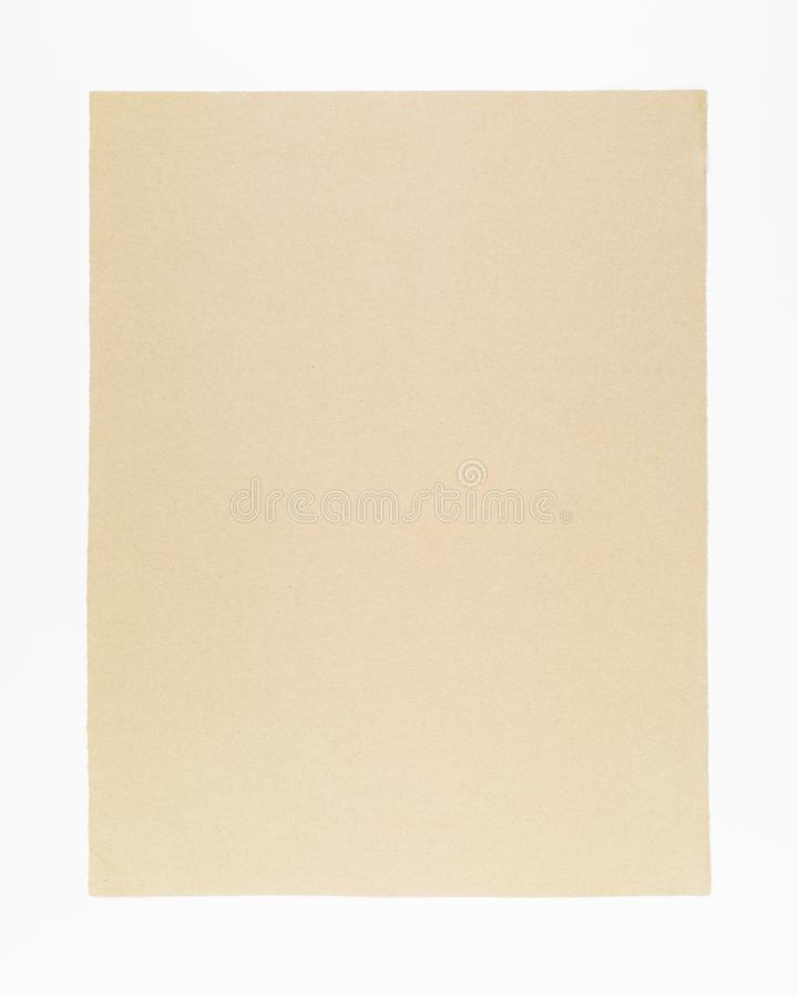 Handmade paper for historic document background royalty free stock image