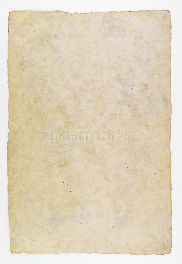 Handmade paper for historic document background stock photos