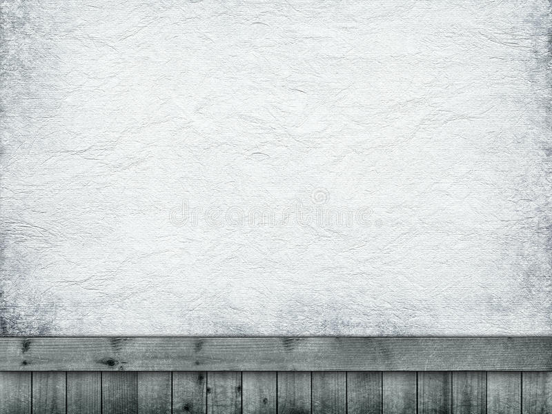 Handmade paper sheet and planks royalty free stock photo