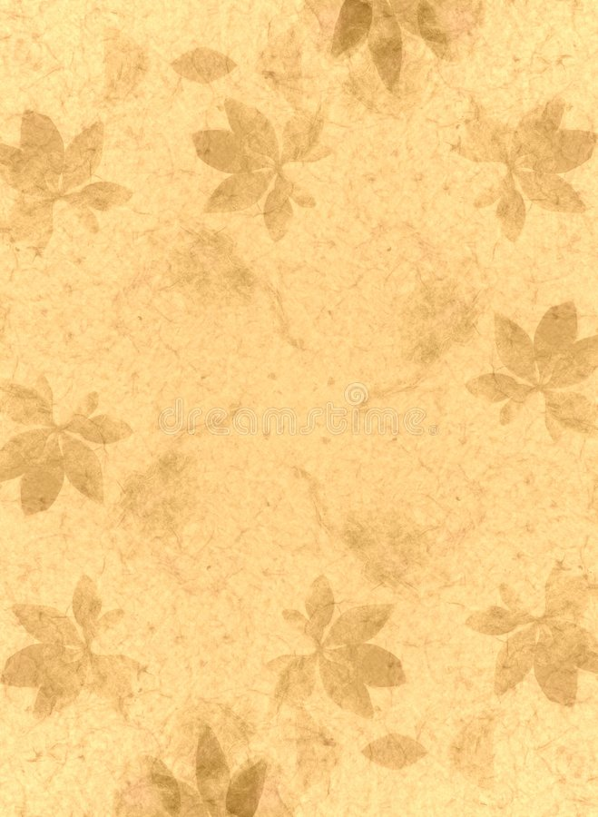 Handmade Paper Texture Gold vector illustration