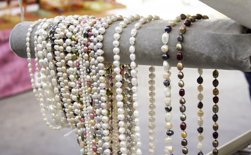 Handmade pendants stock images